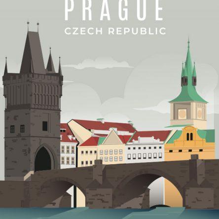 Retro promotional Prag