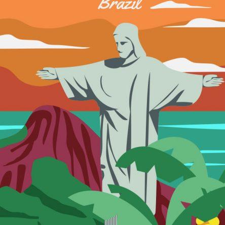 Retro promotional Rio de Janeiro