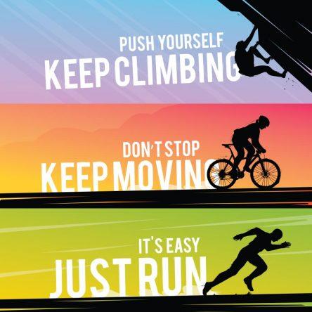 Climbing..Moving..Run..