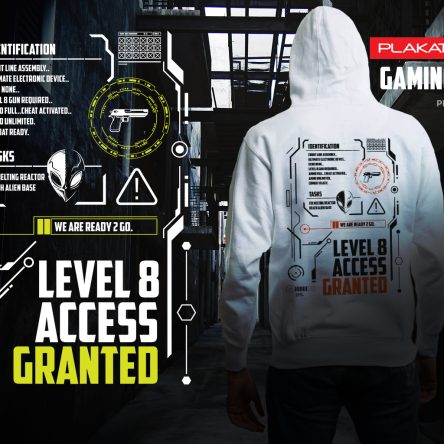 Gaming Level 8 Hoodie