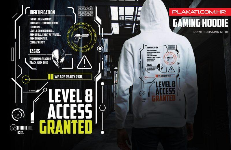 Gaming Level 8 Hoodie