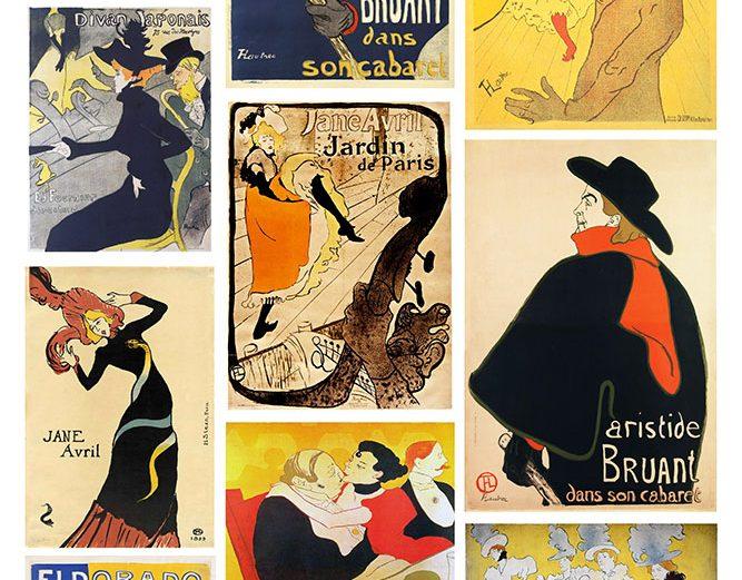 Toulouse-Lautrec kolaž