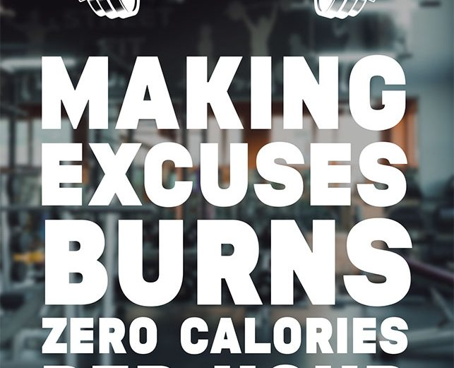 Making Excuses..