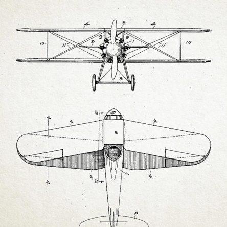 Patent, avion