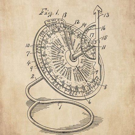 Patent, Astronomical Clock