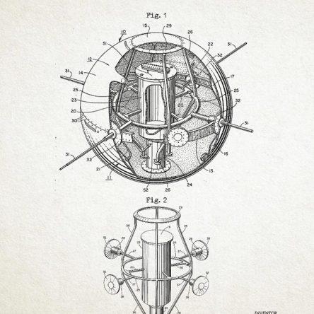 Patent, Satellite Structure