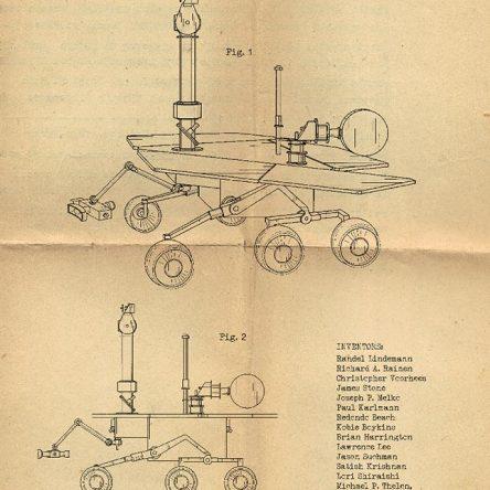 Patent, Mars Exploration Rover