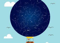 Zvjezdano nebo dječji motiv